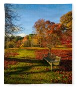 Afternoon Shadows Fleece Blanket