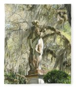 Afton Plantation Villa Statuary Fleece Blanket