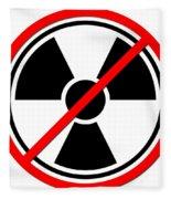 Against Atom Fleece Blanket