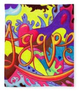 Agape Fleece Blanket