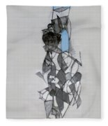 Self-renewal 11a Fleece Blanket