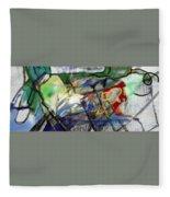 Self-renewal 23ad Fleece Blanket
