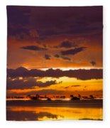 Aglow Fleece Blanket