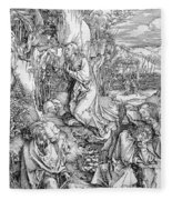Agony In The Garden From The 'great Passion' Series Fleece Blanket