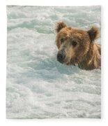 Ahh Whirlpool Time Fleece Blanket