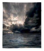 Air And Water No.25 Fleece Blanket