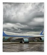 Air Force One Fleece Blanket