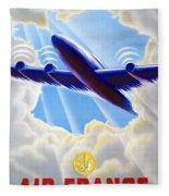 Air France Fleece Blanket