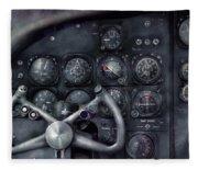 Air - The Cockpit Fleece Blanket