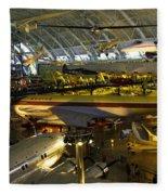 Air Traffic Fleece Blanket