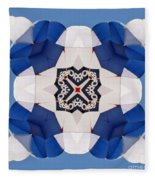 Airborne Quilt Fleece Blanket