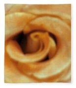 Airbrush Rose Fleece Blanket