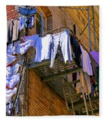 Airing Out The Drawers By Diana Sainz Fleece Blanket