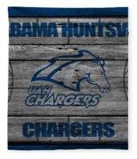Alabama Huntsville Chargers Fleece Blanket