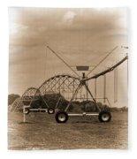 Alabama Irrigation System Vignette Fleece Blanket