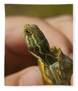Alabama Red-bellied Turtle -  Pseudemys Alabamensis Fleece Blanket