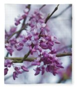 Alabama Redbuds Fleece Blanket