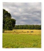 Alabama Valley Fleece Blanket