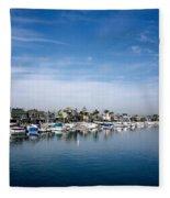 Alamito Bay Marina Fleece Blanket