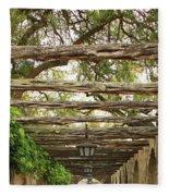 Alamo Walkway Fleece Blanket