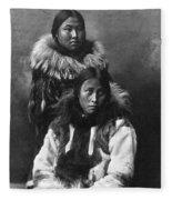 Alaska Eskimos, C1903 Fleece Blanket