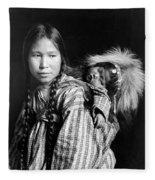 Alaska Eskimos, C1912 Fleece Blanket
