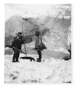 Alaska Hunters Fleece Blanket