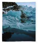 Alaska Iceberg Fleece Blanket