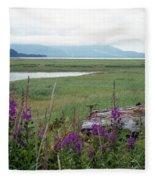 Alaska - Juneau Wetlands Fleece Blanket