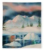 Alaska Panorama Fleece Blanket