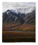 Alaska Range Fleece Blanket