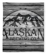 Alaskan Brewing Fleece Blanket