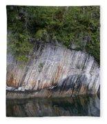 Alaskan Cliff Fleece Blanket