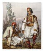 Albanians, 1865 Fleece Blanket