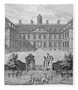 Albemarle House, Formerly Clarendon Fleece Blanket