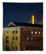 Albers Bros. Cereal Millers Fleece Blanket