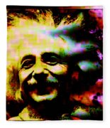 Albert Einstein - Why Is It That Nobody Understands Me - Yet Everybody Likes Me Fleece Blanket