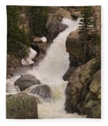 Alberta Falls Fleece Blanket