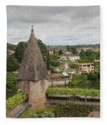 Albi France Arch Bishops Garden Fleece Blanket
