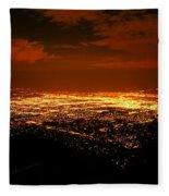 Albuquerque New Mexico  Fleece Blanket