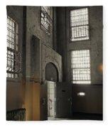 Alcatraz Doorway To Freedom Fleece Blanket