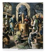 Alchemy: Laboratory Fleece Blanket