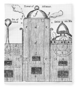 Alchemy: Tower Of Athanor Fleece Blanket