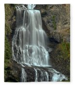 Alexander Falls Recreation Site - Whistler Bc Fleece Blanket