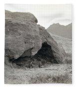 Alexander Selkirk Cave Fleece Blanket