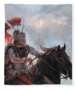 Alexander The Great  Fleece Blanket