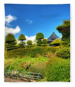 Alexandra Park Penarth Fleece Blanket