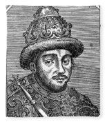 Alexei Mikhailovich (1629-1676) Fleece Blanket