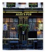 Alex's Pub Fleece Blanket