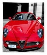 Alfa Romeo 1c Fleece Blanket